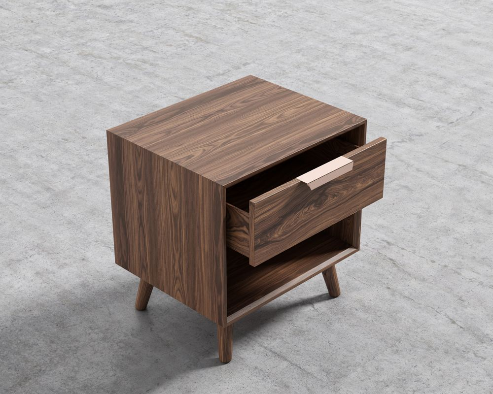 Asher Single Drawer Nightstand