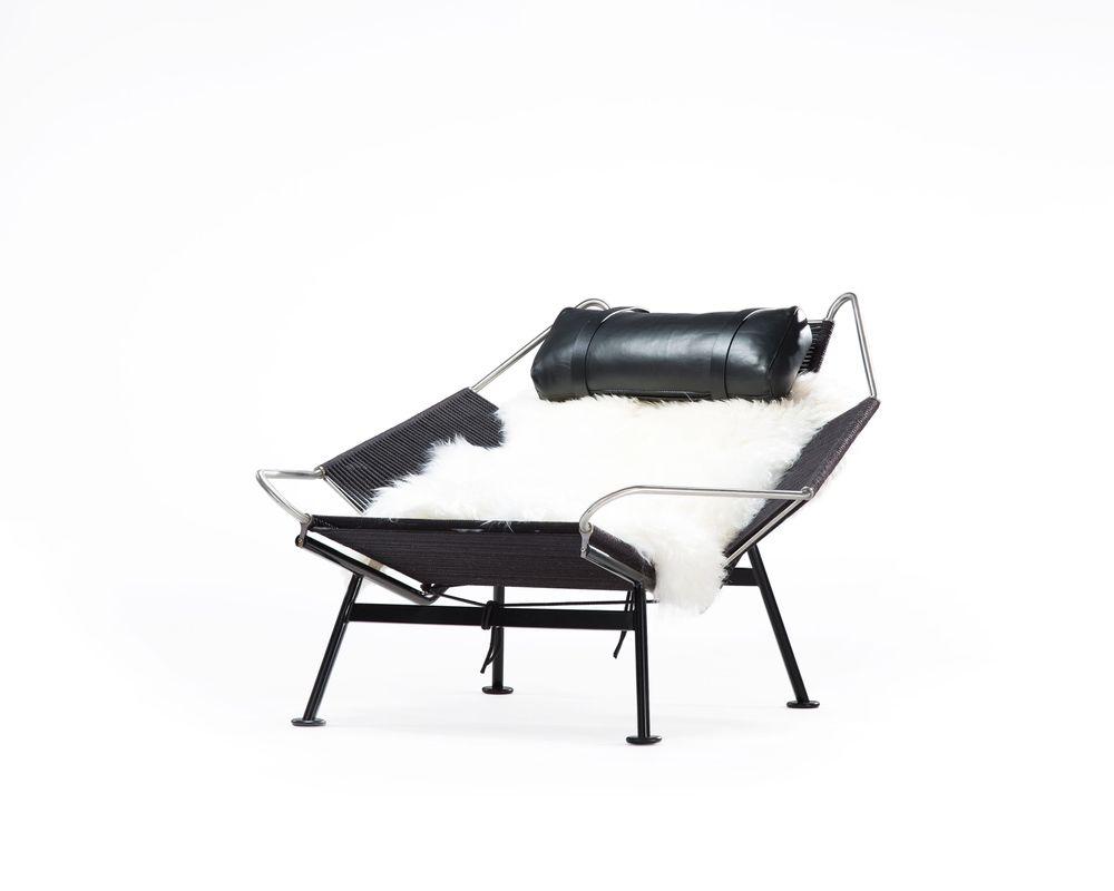 Flag Halyard Chair - Black Edition