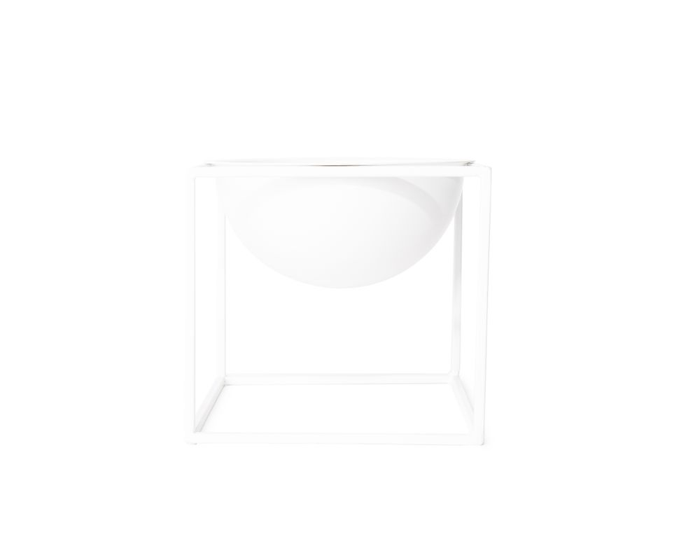 Metal Planter - White XS
