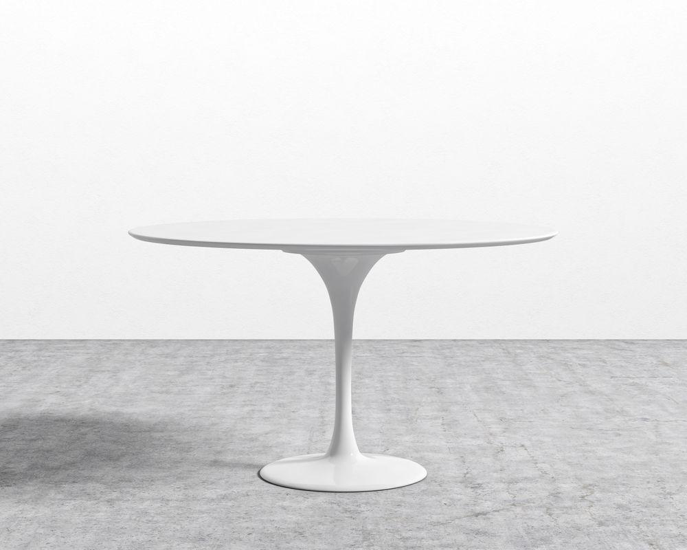 Tulip Table Round - Lacquer