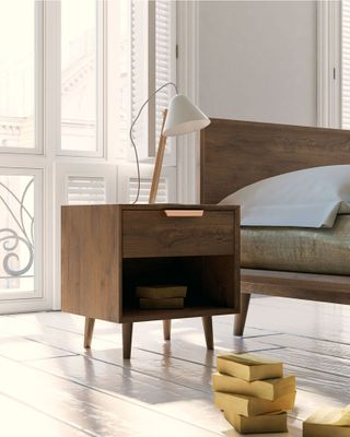 Asher Single Drawer Nightstand