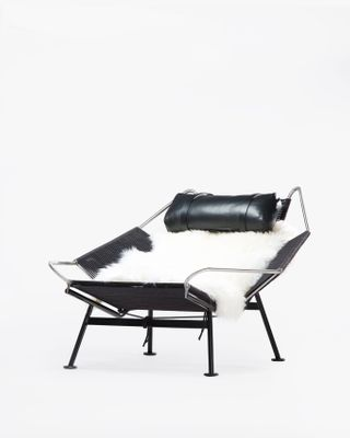 Flag Halyard Chair - Black Edition