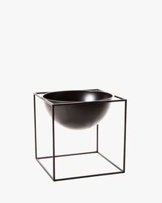 Metal Planter - Black Medium