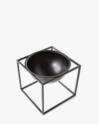 Metal Planter - Black Small