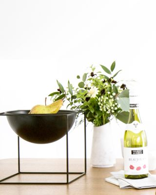 Metal Planter - Black XS
