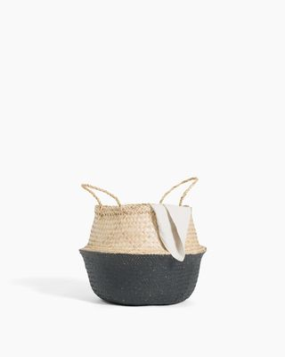 Greta Belly Basket - Black